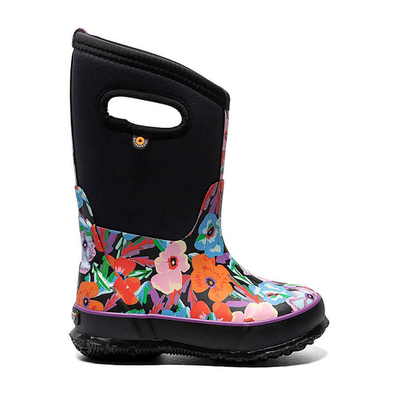 Classic Pansies- Kids Winter Boots