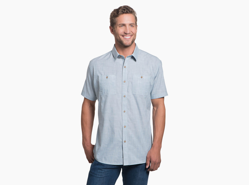Karib Short Sleeve Shirt - Horizon
