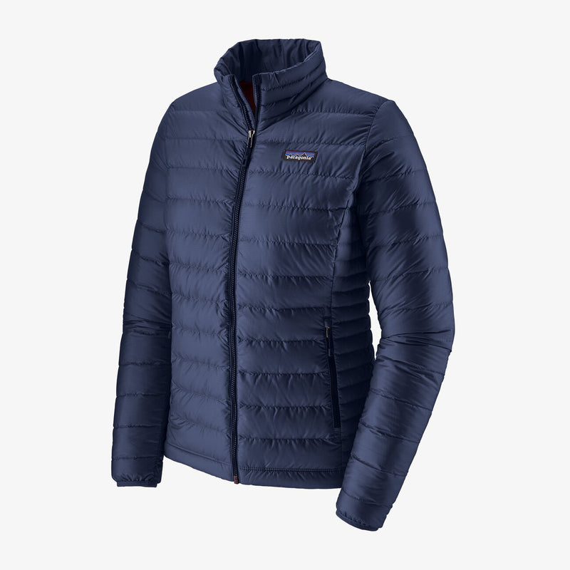 Women's Down Sweater Jacket - Classic Navy