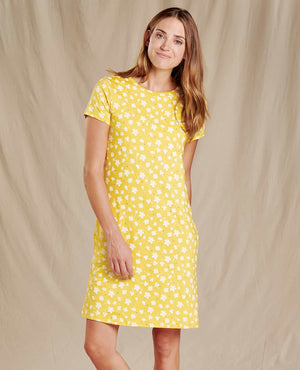 Windmere II SS Dress - Pineapple