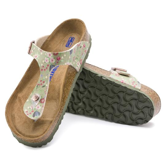 Gizeh SOFT Meadow Flowers Khaki _Birko Flor
