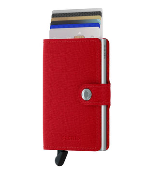 Secrid Miniwallet - Red Original