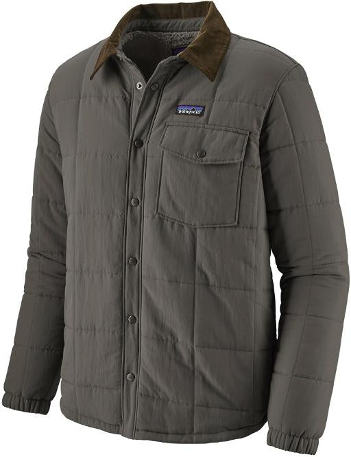 Men's Isthmus Quilted Shirt Jacket - Forge Grey