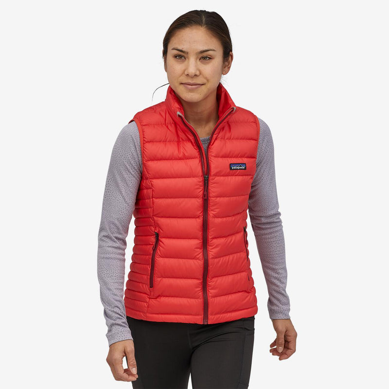 Women's Down Sweater Vest - Catalan Coral