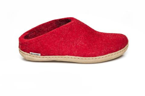 Glerup Slipper - Red