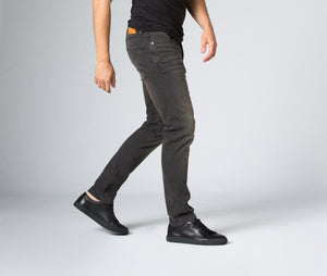 Mens Duer Denim Slim Fit - Antique Black