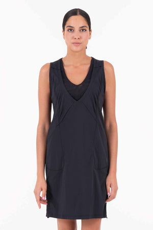 Liike III - Woven Stretch Dress - Black