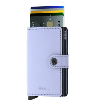 Secrid Miniwallet - Matte Purple