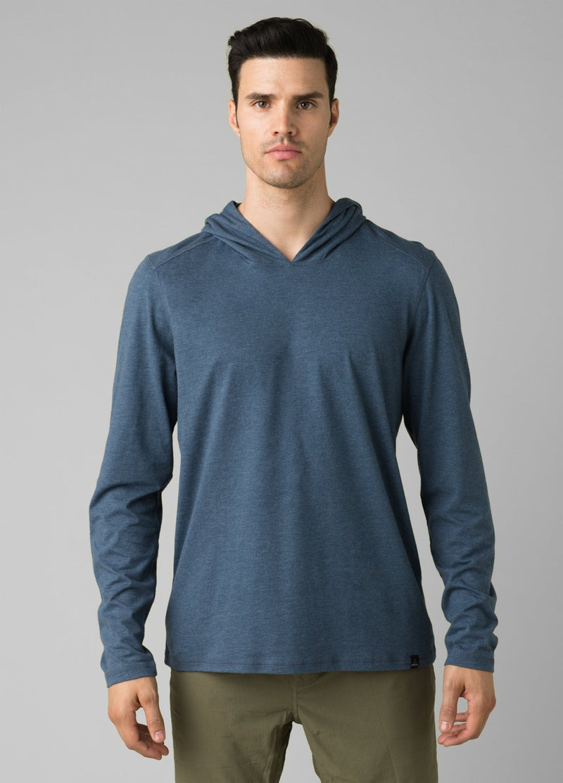Men's Prana Hooded T-shirt Demim