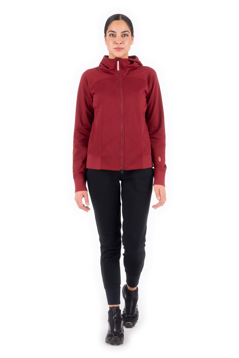 MILIN – FRENCH TERRY ZIP-UP HOODIE