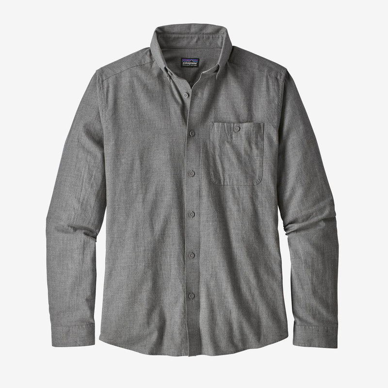 Long-Sleeved Vjosa River Pima Cotton Shirt