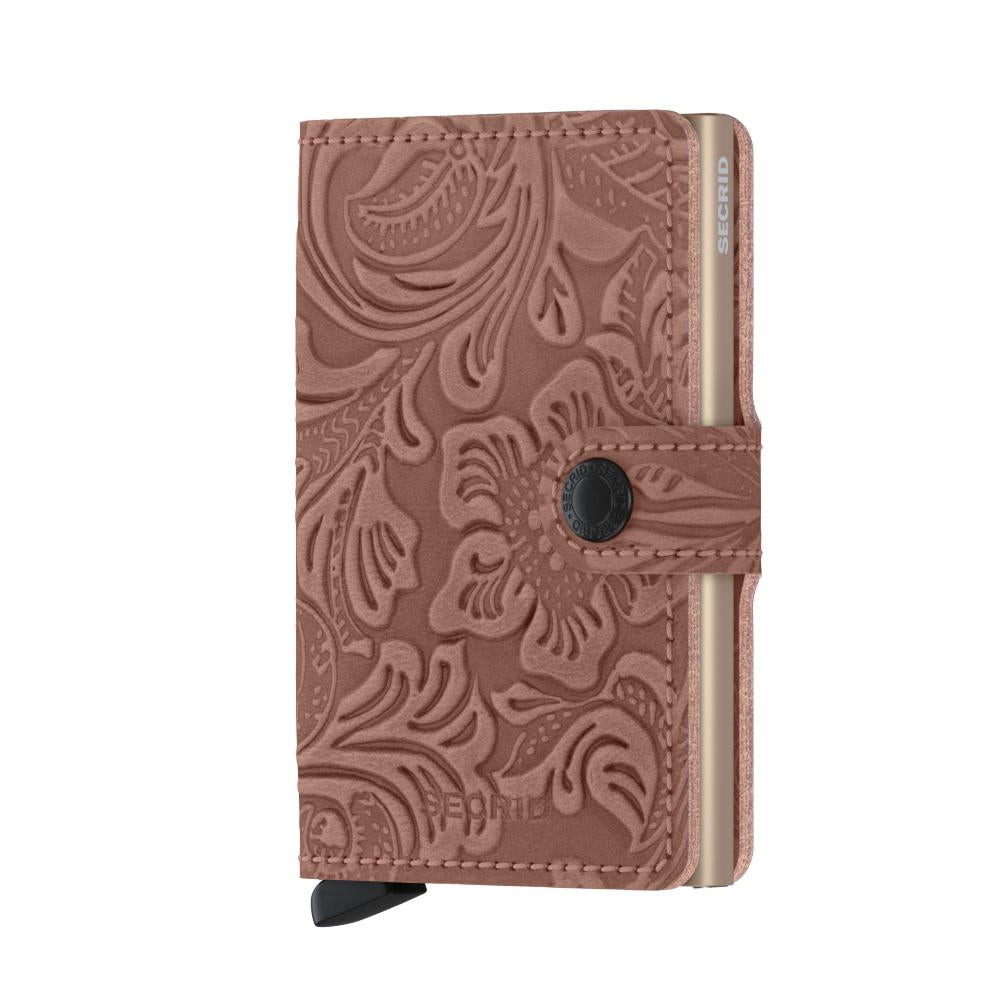 Secrid Miniwallet - Embossed Ornamental Rose