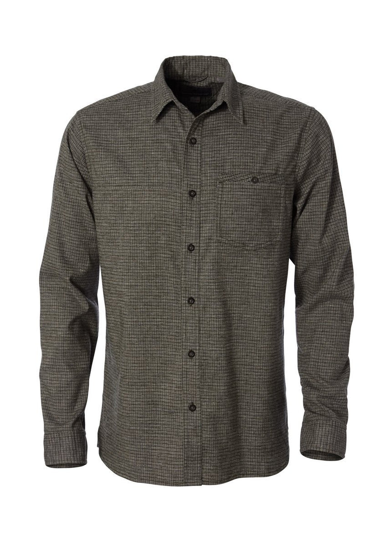 Men's Hemp Blend L/S - Dark Spruce