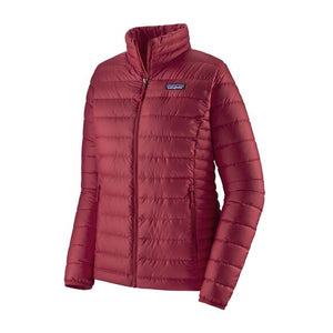 Women's Down Sweater Jacket - Roamer Red