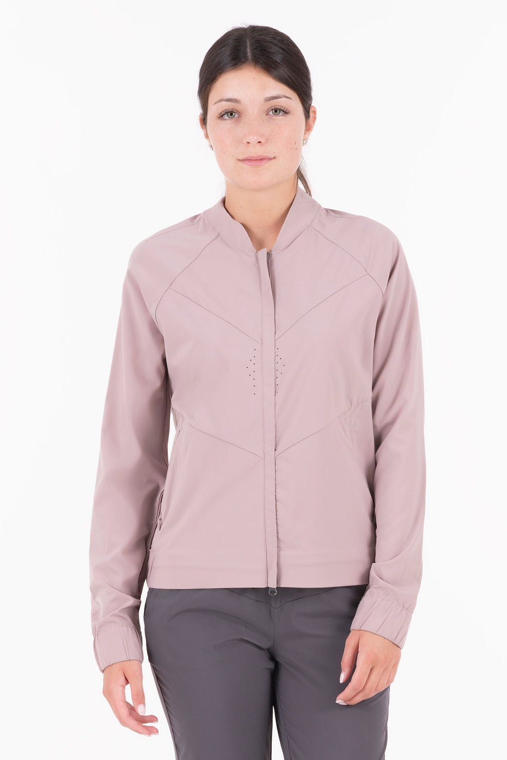 Silvana - Light Woven Mix Light-Weight, Short Jacket