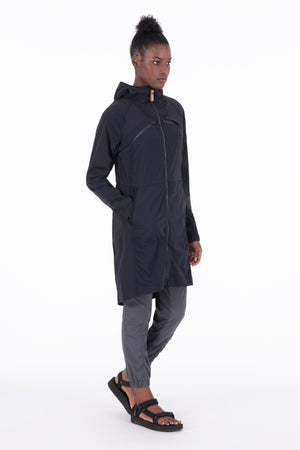 Slinga II - Woven Stretch Light-Weight, Long Jacket