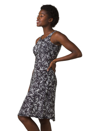 Skypath Dress - Black Spring