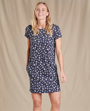 Windmere II SS Dress - True Navy Floral