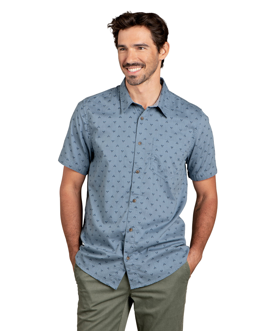 Fletch Short Sleeve Shirt - North Shore Tent