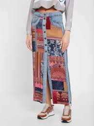 Grecia denim skirt