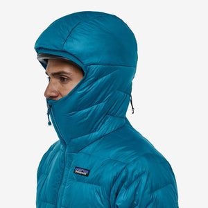 Men's Micro Puff Hoody - Balkan Blue