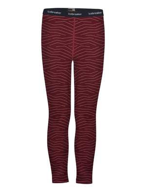 Kids Merino 200 Oasis Long Underwear - Redwood