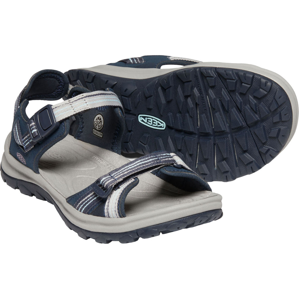 Women's Terradora II Open Toe Sandal - Navy/Light Blue