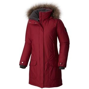 Women's Icelandite™ TurboDown Jacket - Red