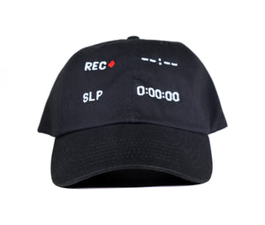 Hat - VCR RECORD