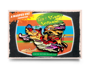 Warped Tape / Ren & Stimpy Scramble