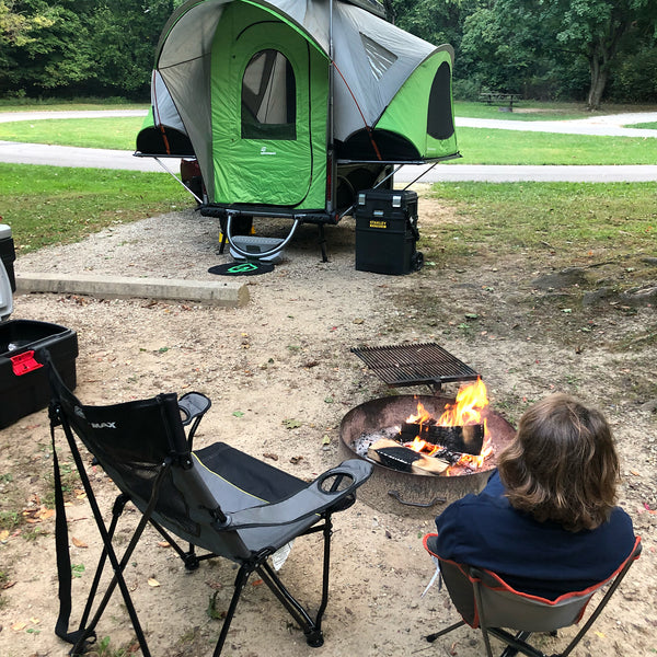 Chain O'Lakes State Park Camping