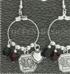 USC CHARM EARRINGS