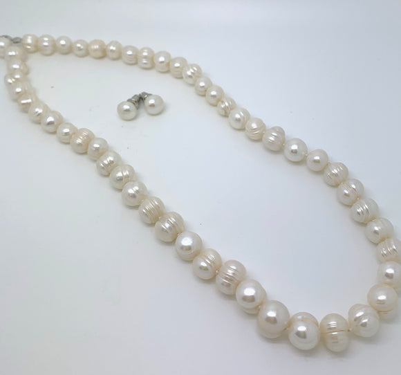 6mm Mother of Pearl Necklace