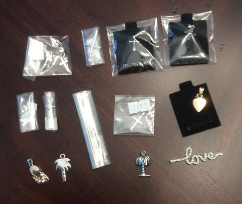 Sterling Silver Assorted Pendants 12