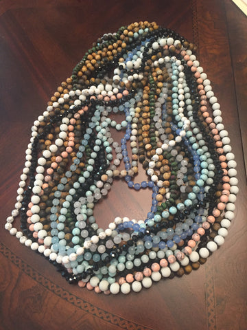 "36"" Gemstone Necklace - Assorted"