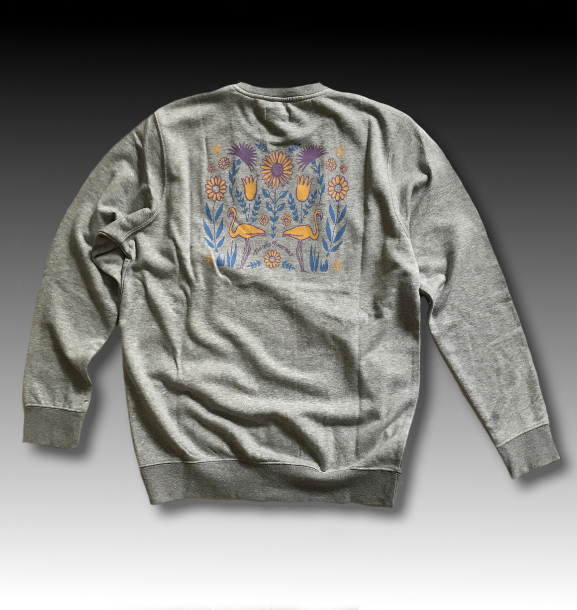 SPRING CREW HEATHER GREY