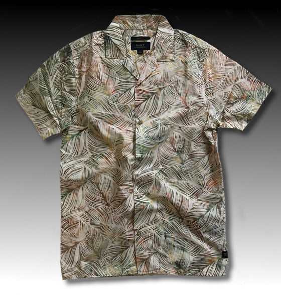 JAVA LEAF BOTTON UP SHIRT