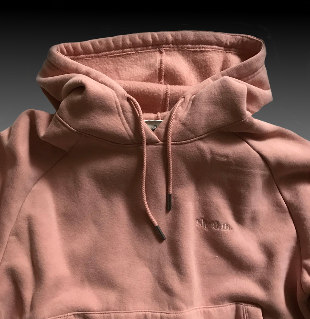 CLOUD BREAKER HOODIE DUSTY PINK