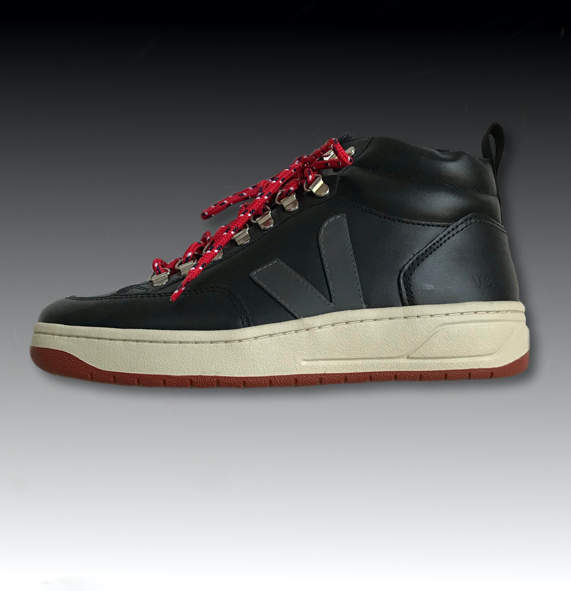 RORAIMA BASTILLE LEATHER BLACK GRAFITE RUST OUTSOLE