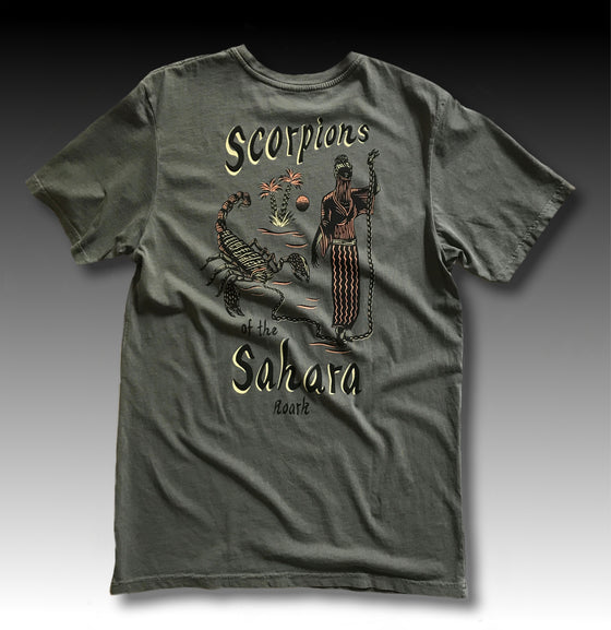 SCORPIONS OF THE SAHARA PREMIUM TEE