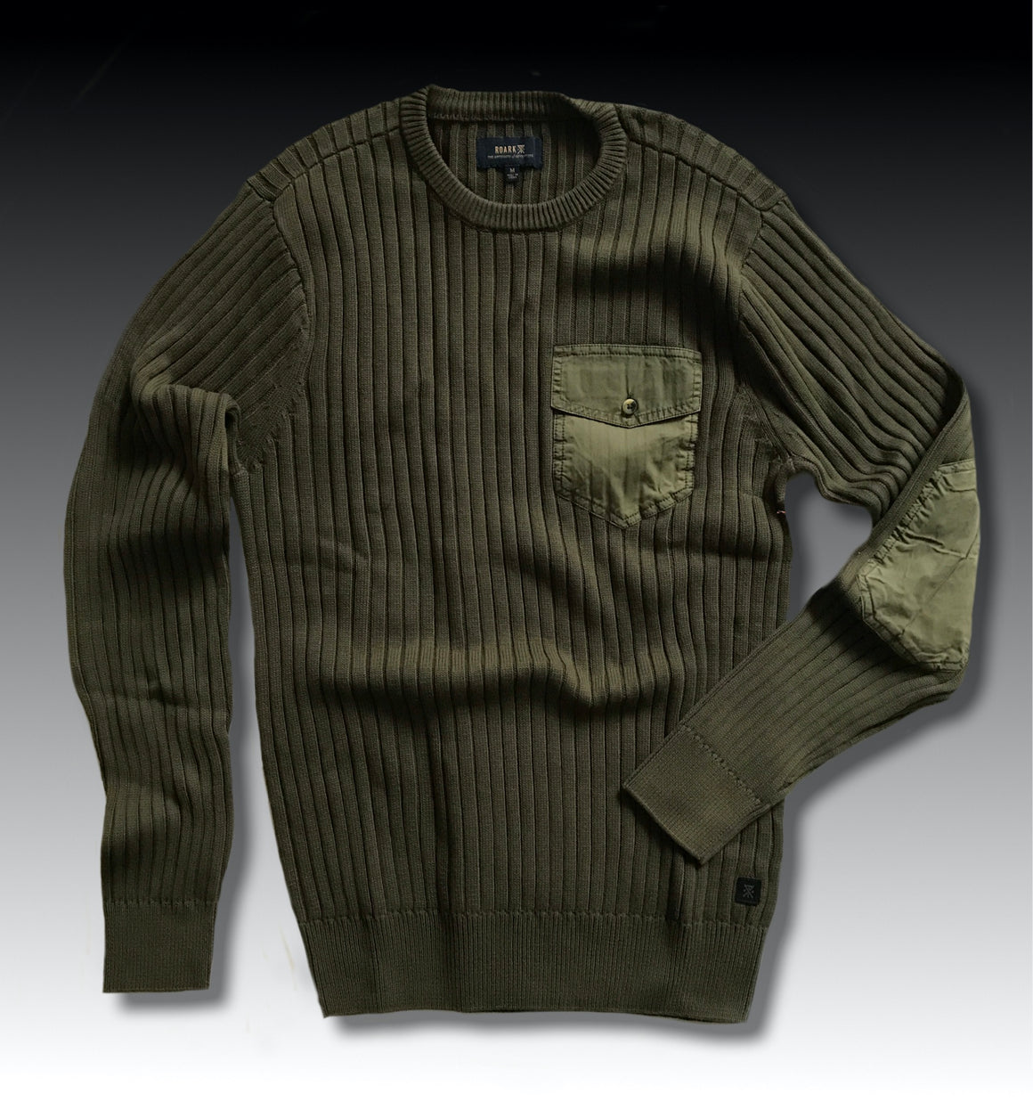 SCOUT SWEATER MLITARY