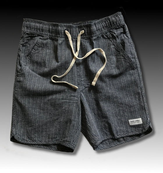 PATHWAY STRIPE WALKSHORT DIRTY DENIM
