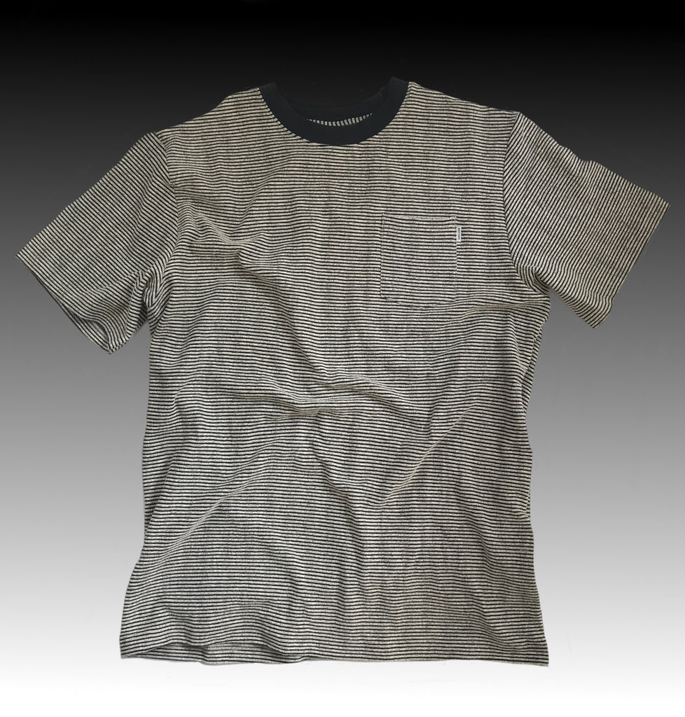 FRIDAY STRIP T-SHIRT CREAM