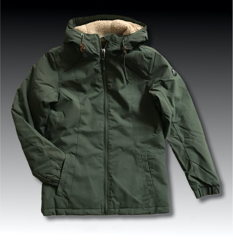 CHILLIN WOVEN JACKET GREEN