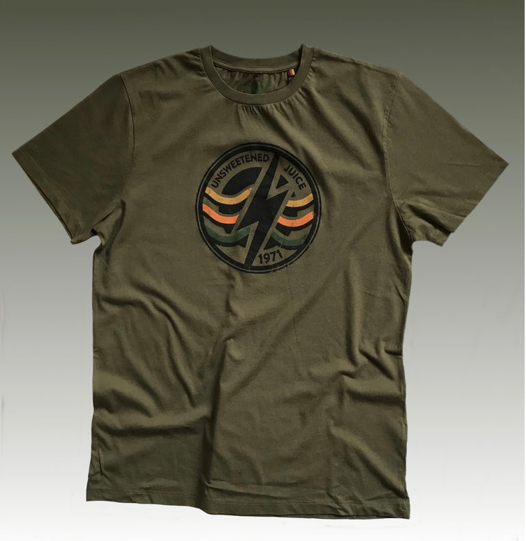 SURF ZONE TEE OLIVE NIGHT