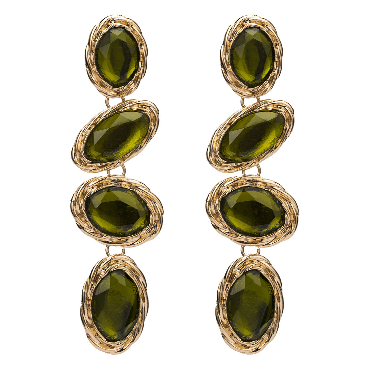 Dramatic drop earrings