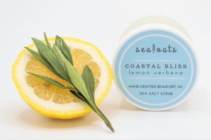 Sea Salt Scrub: Coastal Bliss
