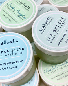 Sea Salt Scrub: Sea Breeze