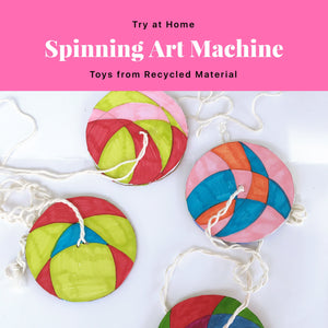 Spinning Retro Toy Activity