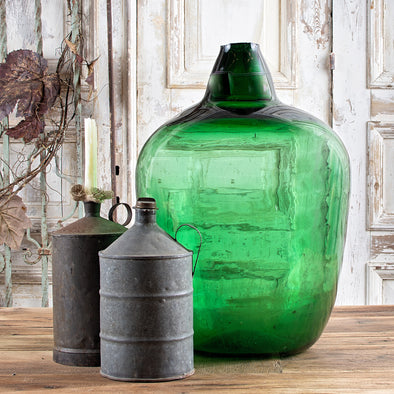 55-Liter Emerald Green Demijohn, France c. 1910